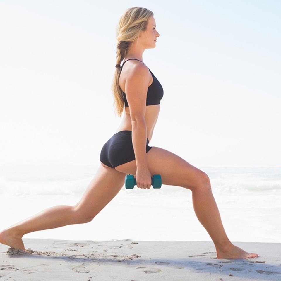 beach-lunges