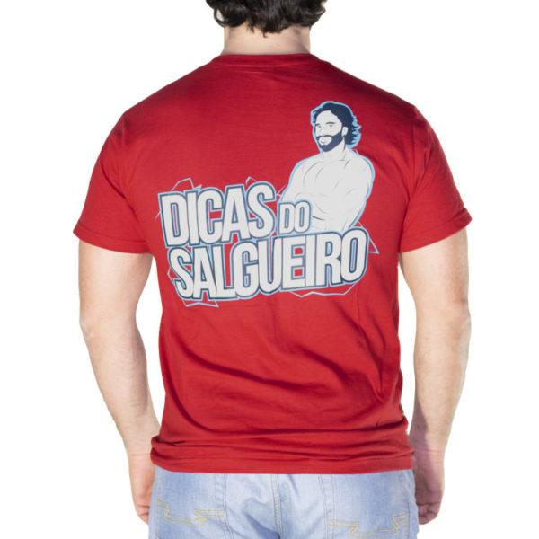 T-shirt Dicas Vermelho