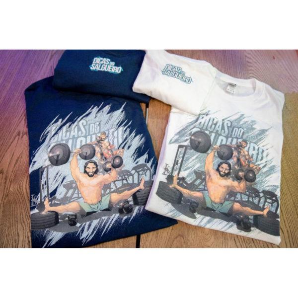 T shirt Dicas Marvel Branca