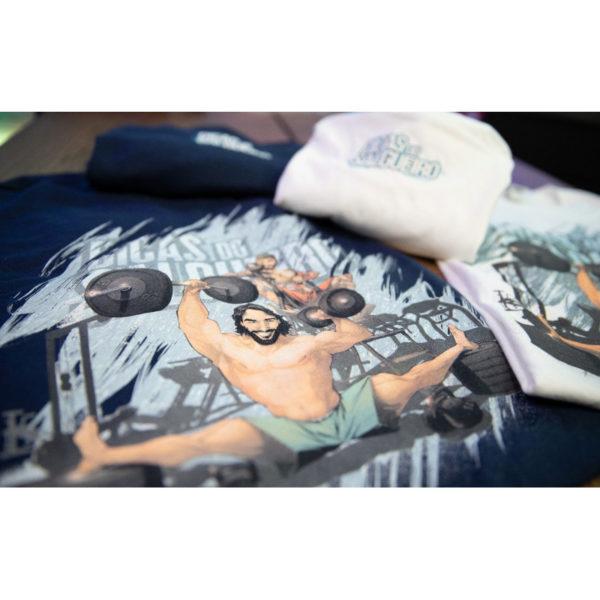T shirt Dicas Marvel Azul